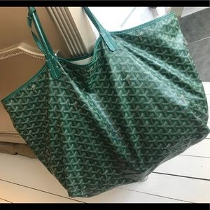 Goyard St. Louis GM Chevron Tote